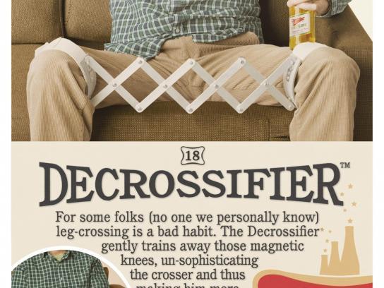 Miller Print Ad -  Decrossifier