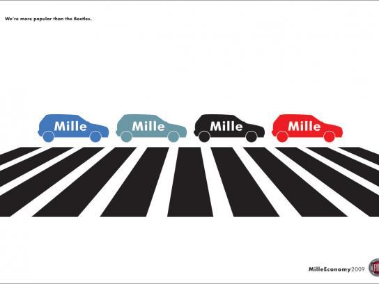 Fiat Print Ad -  Zebra