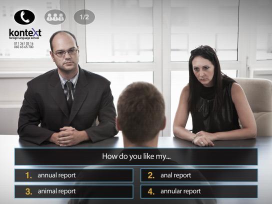 Kontext Print Ad -  Million dollar question - Meeting