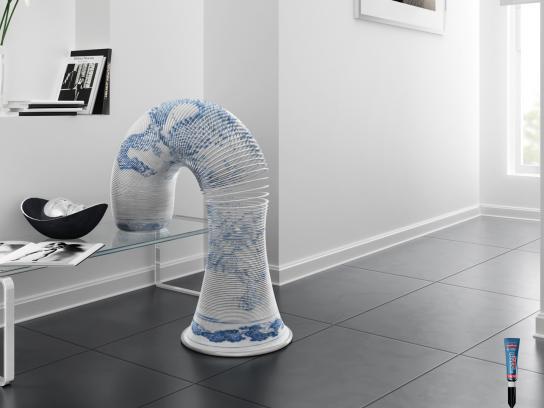 SuperBonder Print Ad -  Ming Vase