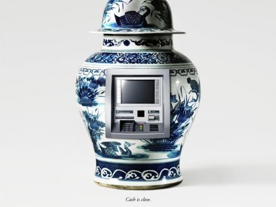 Svenska Pantbanken Print Ad -  Ming Vase