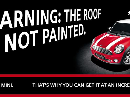 Mini Print Ad -  Roof