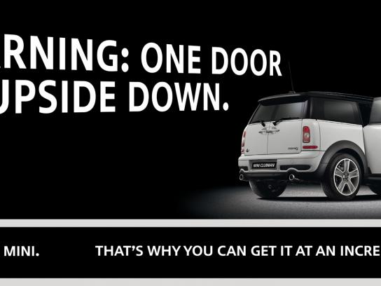 Mini Print Ad -  Door