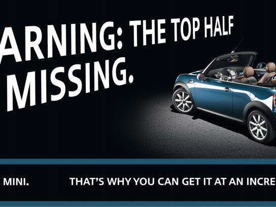 Mini Print Ad -  Top half