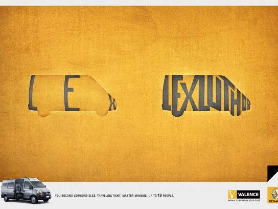 Renault Print Ad -  Lex Luthor