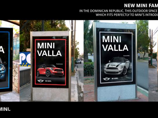 Mini Outdoor Ad -  Mini Valla