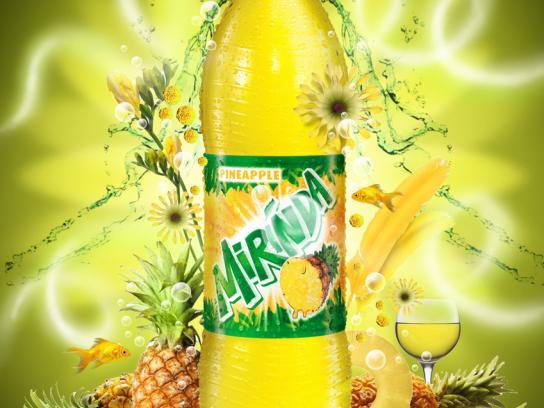 Mirinda Print Ad -  Pineapple