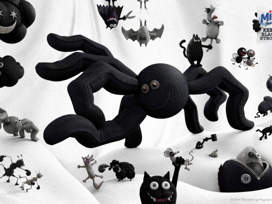 MIR Black Print Ad -  Keep black strong, 1