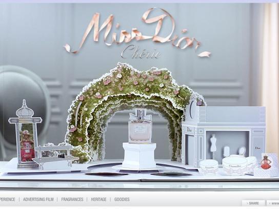 Dior Digital Ad -  Miss Dior Cherie