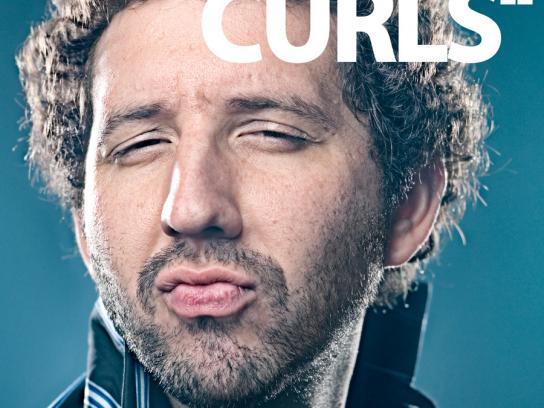 Mitsubishi Print Ad -  Curls