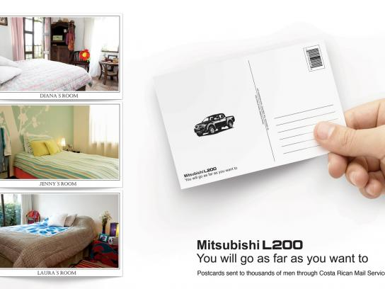 Mitsubishi Direct Ad -  Postcards