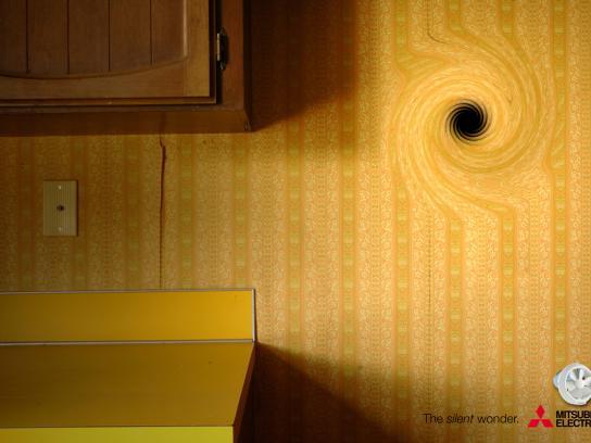 Mitsubishi Print Ad -  Kitchen