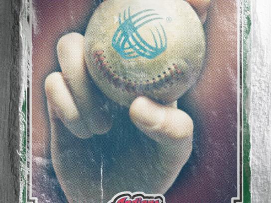 Medical Mutual Print Ad -  Smiling Baseball