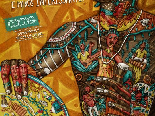 Mozambique Music Awards Print Ad -  Conga