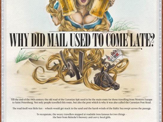 Švyturys Print Ad -  Mail
