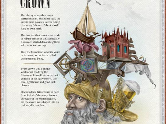 Švyturys Print Ad -  Crown