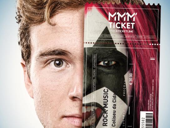 MMM Ticket Print Ad -  Mask