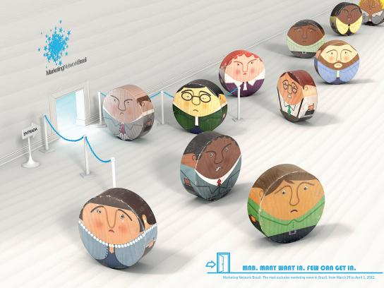 Marketing Network Brazil Print Ad -  Square