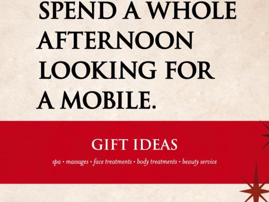 Gaudia Wellness Print Ad -  Mobile