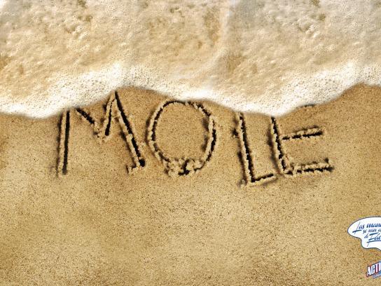 Acticlor Print Ad -  Mole