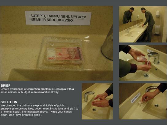Specialiuju Tyrimu Tarnyba Ambient Ad -  Money soap