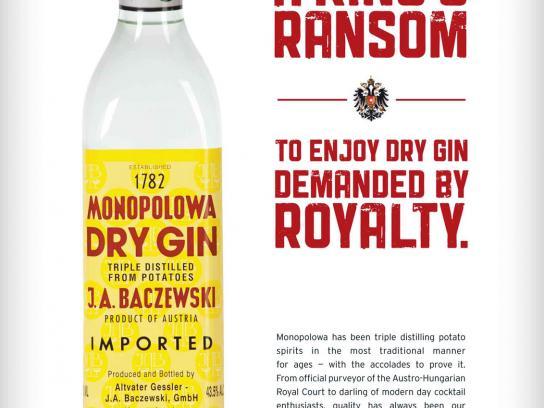 Monopolowa Print Ad -  King's Ransom