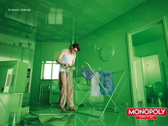 Monopoly Print Ad -  Own it all, 1