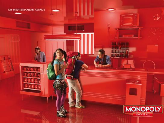 Monopoly Print Ad -  Own it all, 4