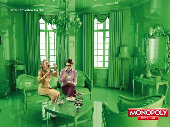 Monopoly Print Ad -  Own it all, 3