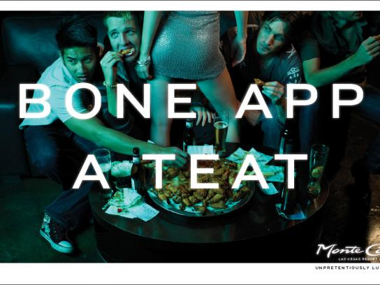 Monte Carlo Resort & Casino Print Ad -  Unpretentiously luxurious, 1