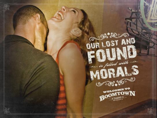 Boomtown Casino Print Ad -  Morals