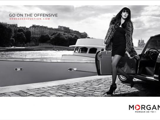 Morgan Print Ad -  Car
