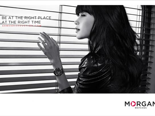 Morgan Print Ad -  Blinds