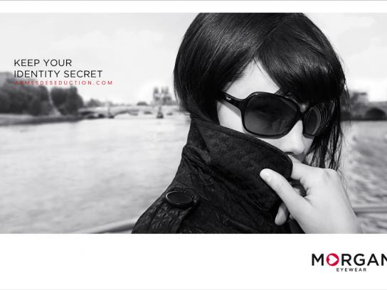 Morgan Print Ad -  Coat