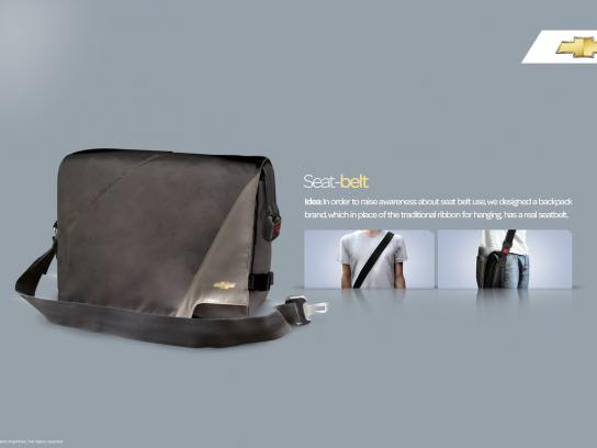 Chevrolet Ambient Ad - Seat Belt