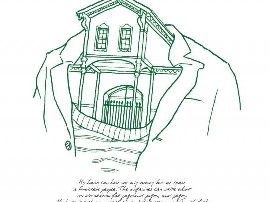 Garanti Print Ad -  House Heads, 2
