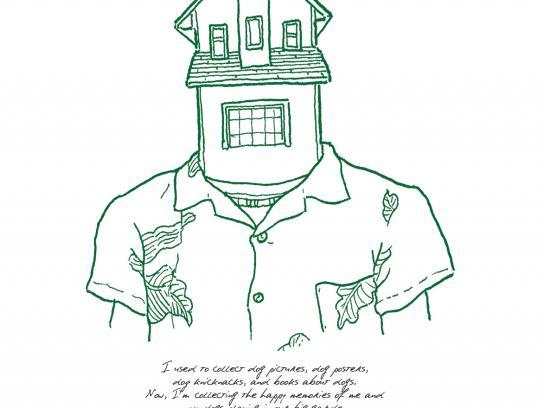 Garanti Print Ad -  House Heads, 3