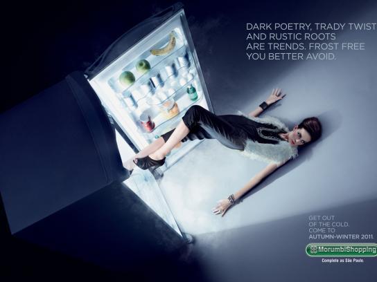 Morumbi Print Ad -  Dark poetry
