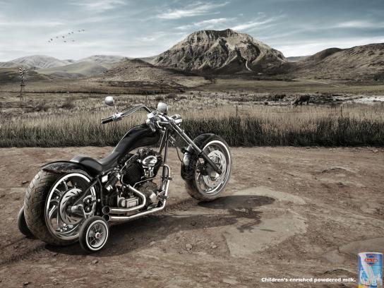 Angolissar Print Ad -  Motorcycle