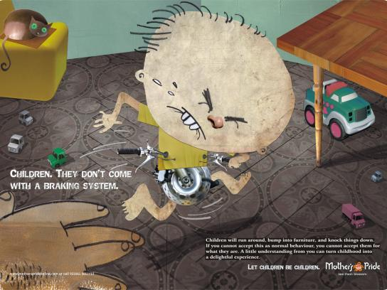 Mother's Pride Print Ad -  Braking system