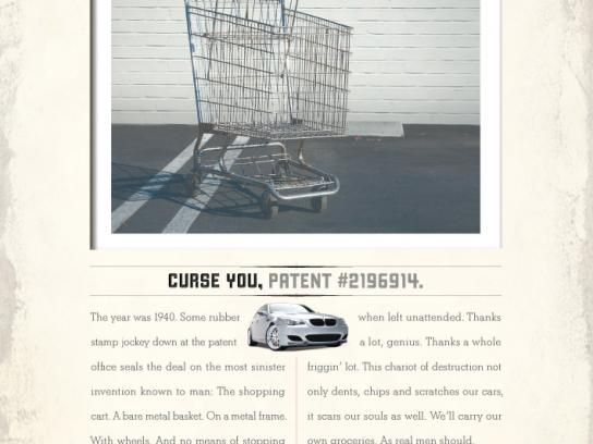 Mothers Print Ad -  Shopping cart