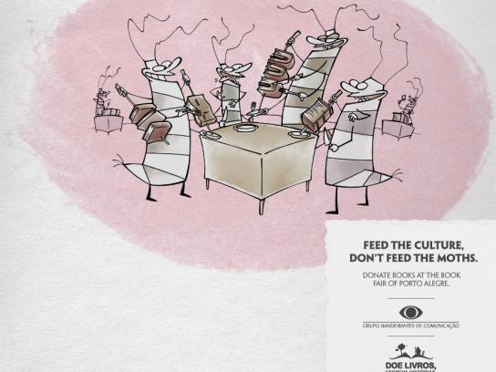 Grupo Bandeirantes de Comunicação Print Ad -  Moths, 3