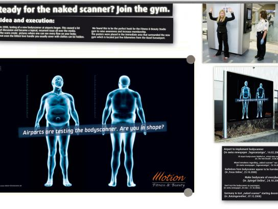 Motion Fitness Ambient Ad -  Join the gym