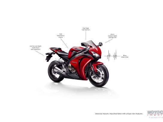 Motocity Imports Print Ad -  Bike