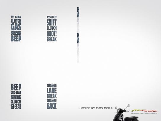 Motoprestige Print Ad -  Speed