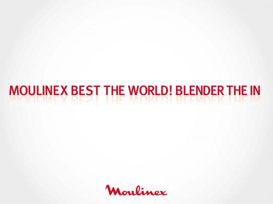 Moulinex Outdoor Ad -  Blender, 1