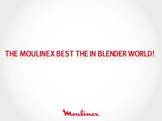 Moulinex Outdoor Ad -  Blender, 2