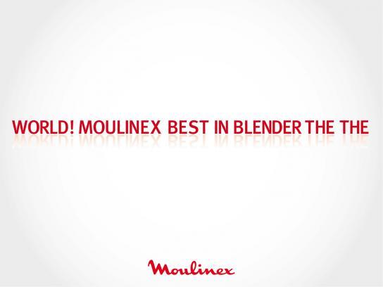 Moulinex Outdoor Ad -  Blender, 3