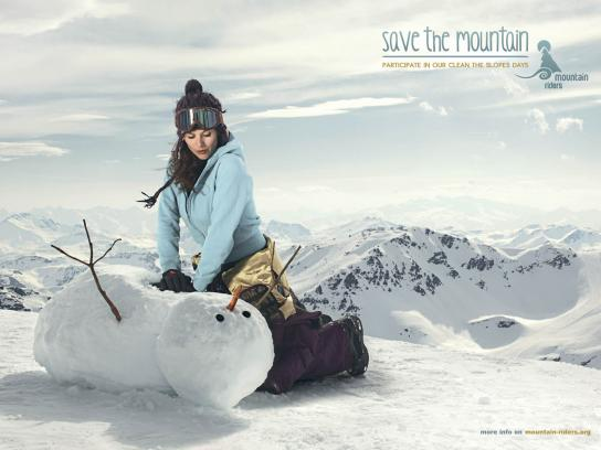 Mountain Riders Print Ad -  Cardiac Massage
