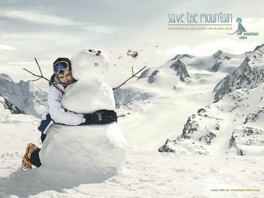 Mountain Riders Print Ad -  Heimlich